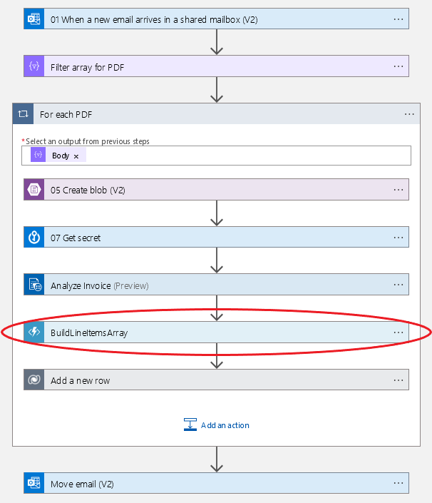 Azure Logic App with Function Example